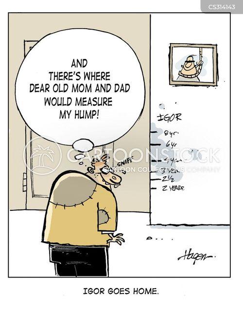 height charts cartoon