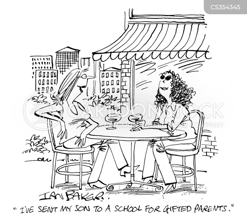 gifted cartoon