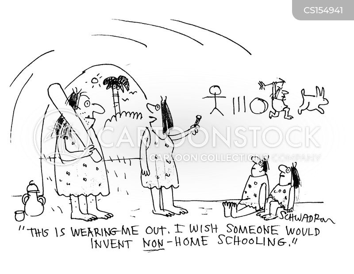 home education cartoon