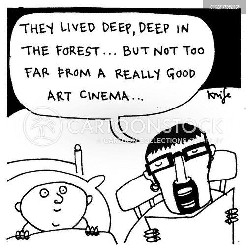 film buff cartoon