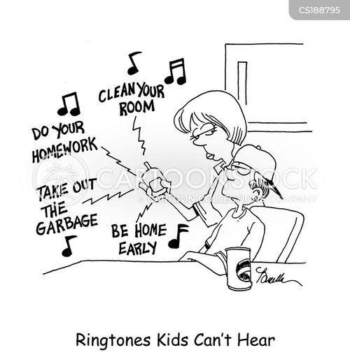 ringtone cartoon