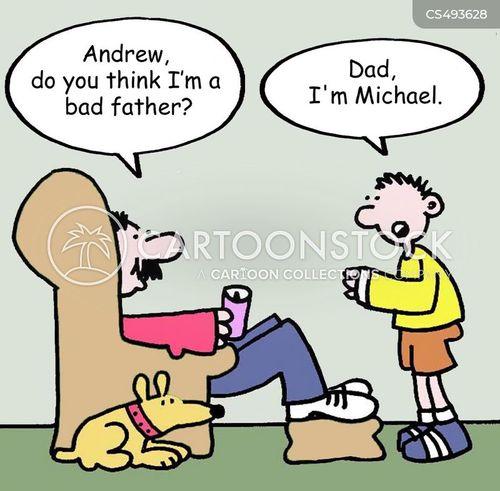 bad fathers cartoon
