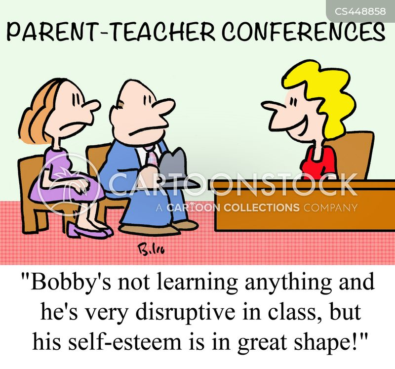 Parent-teacher Conferences Cartoons and Comics - funny pictures ...