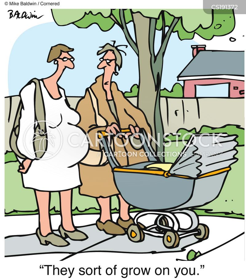 Pushchair Cartoons And Comics Funny Pictures From
