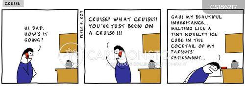 losing money cartoon