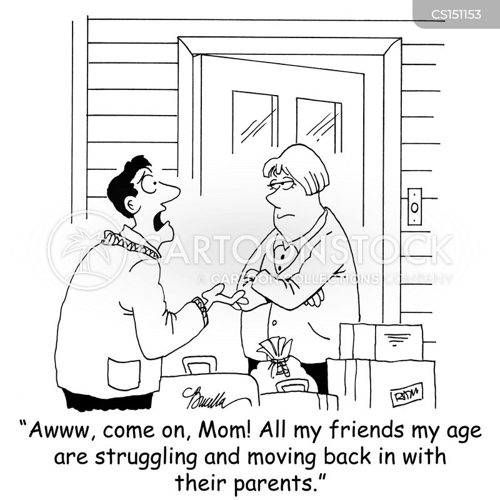 moving in cartoon
