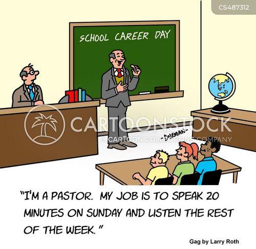 careers talk cartoon