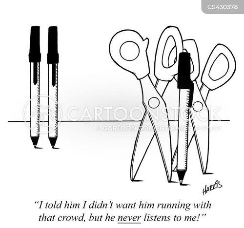 peer group cartoon