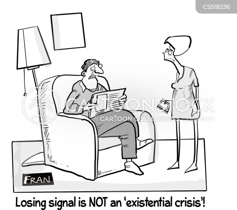 phone signals cartoon
