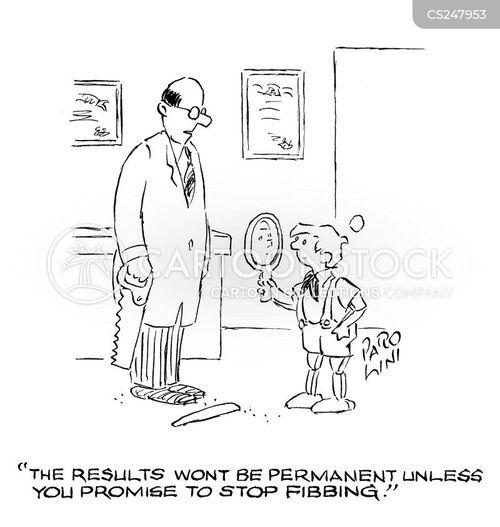 permanent results cartoon