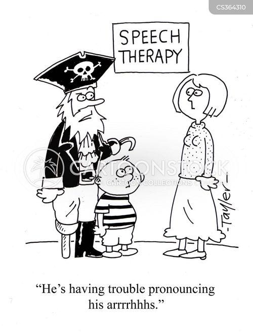 pronouncing cartoon