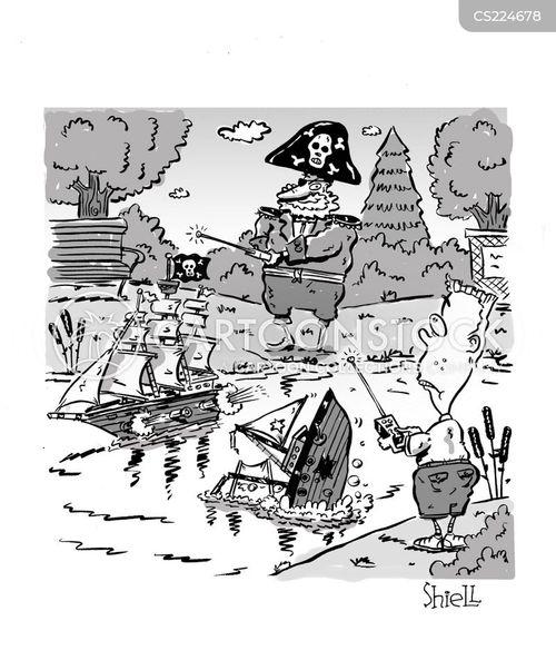jolly roger cartoon