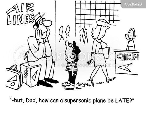 air ports cartoon