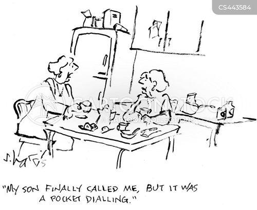 calling home cartoon