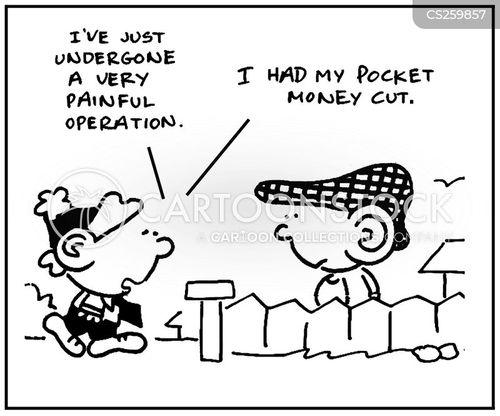 pin money cartoon