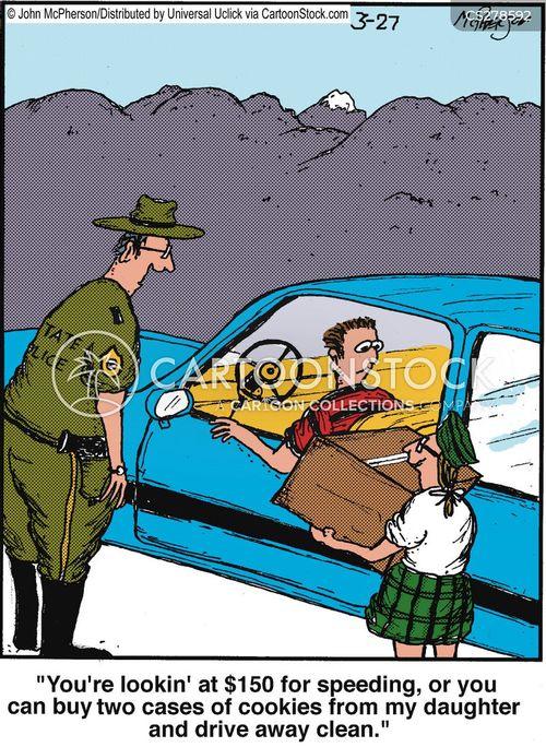 violations cartoon