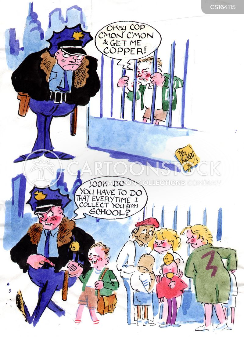 jailbars cartoon