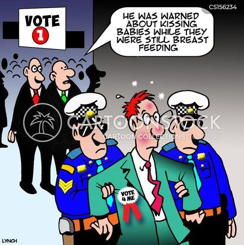 winning votes cartoon