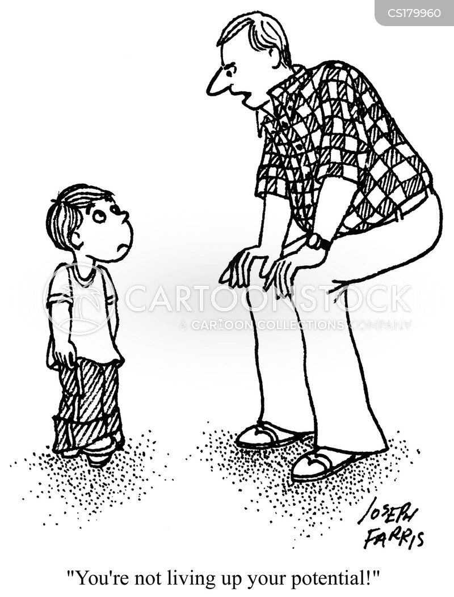low self-esteem cartoon