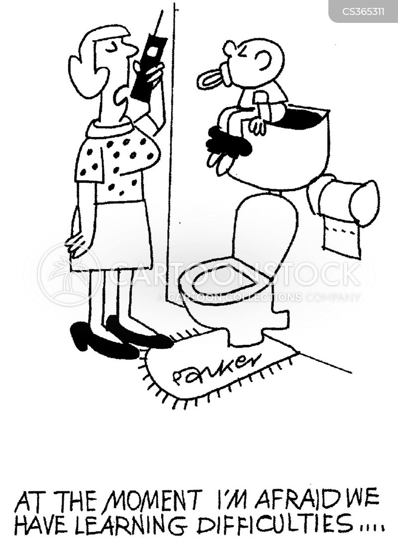toilet trained cartoon