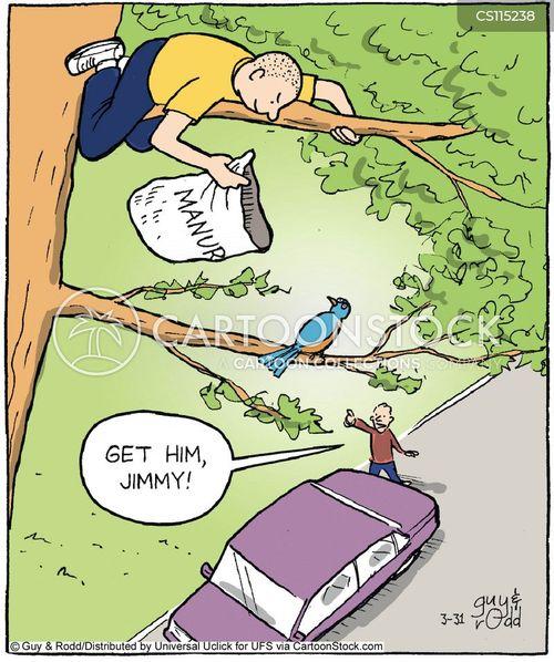 antisocial behavior cartoon