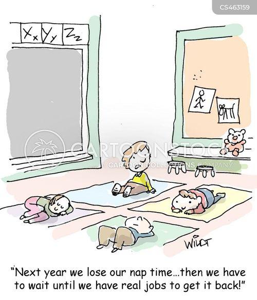 nap times cartoon