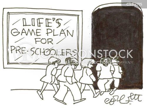 childhood pressures cartoon