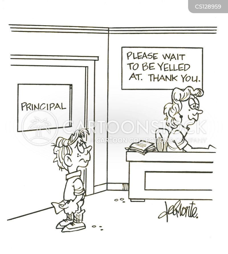 after school detention cartoon 1 of 2
