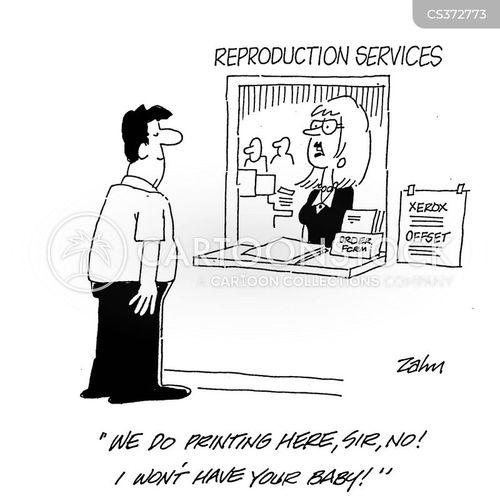 reproductions cartoon