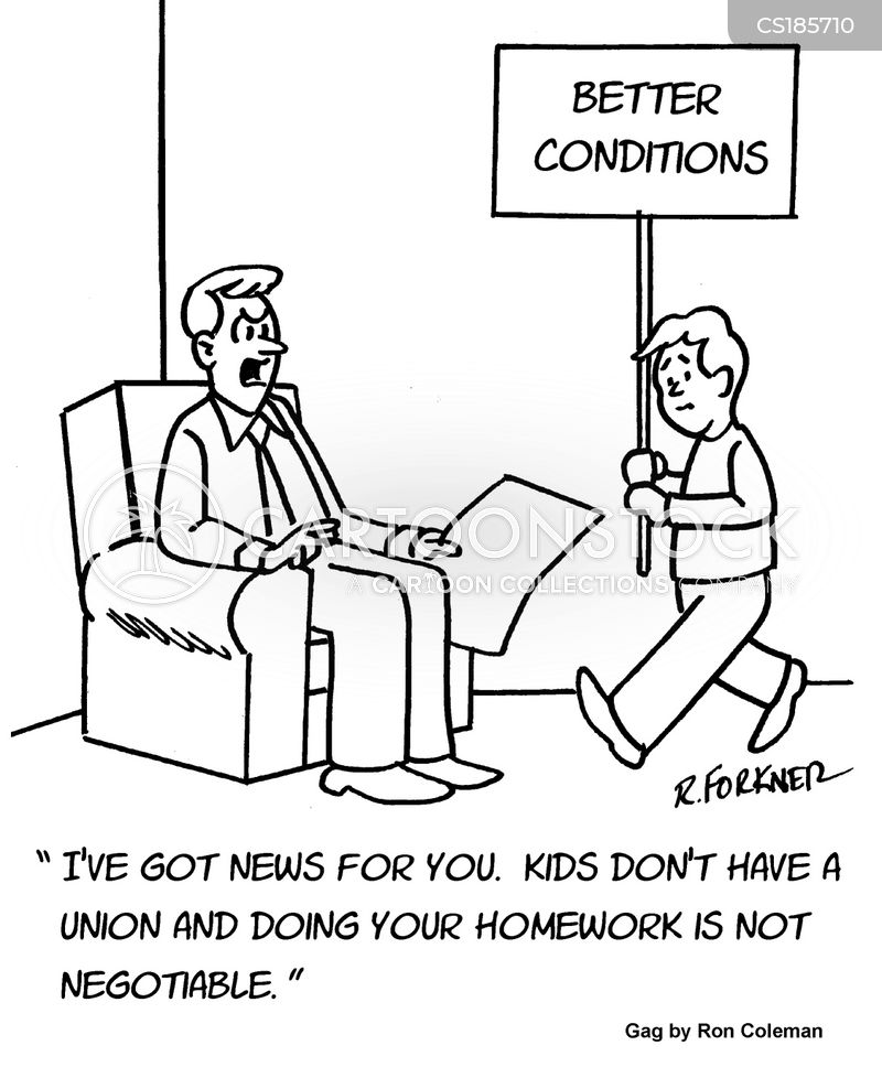 labor union cartoon