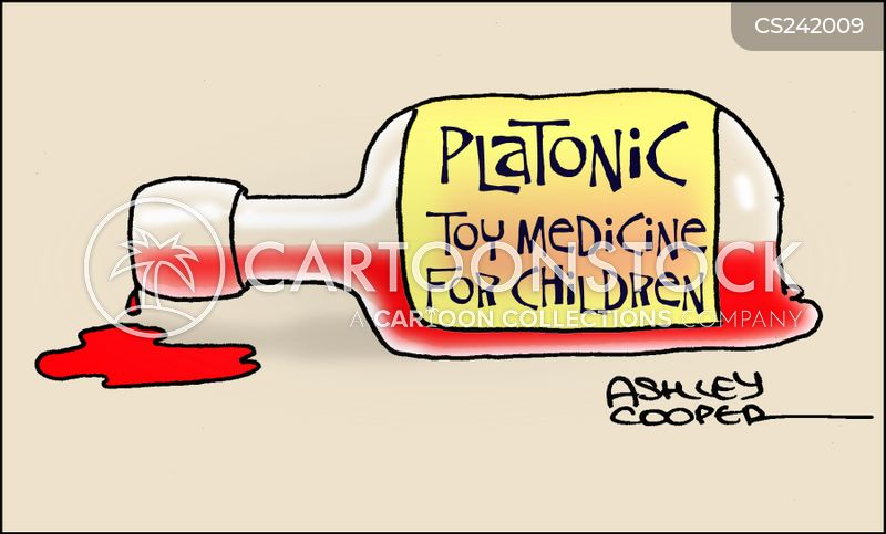 platonic cartoon