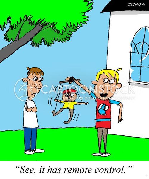 marionettes cartoon