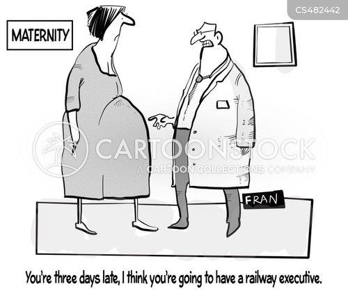 due-date cartoon