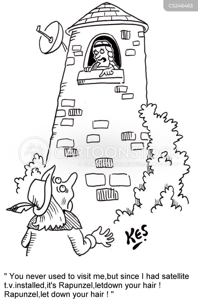 ivory tower cartoon