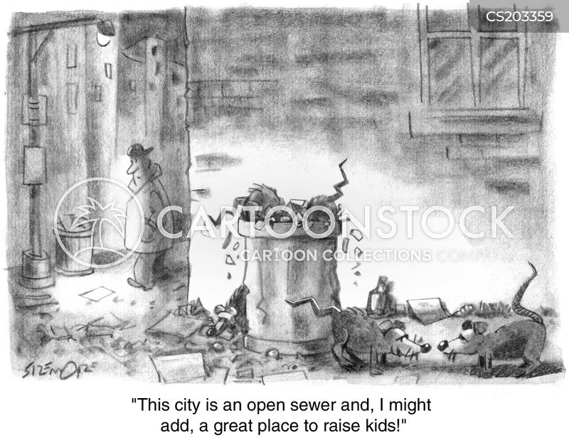 urban wildlife cartoon
