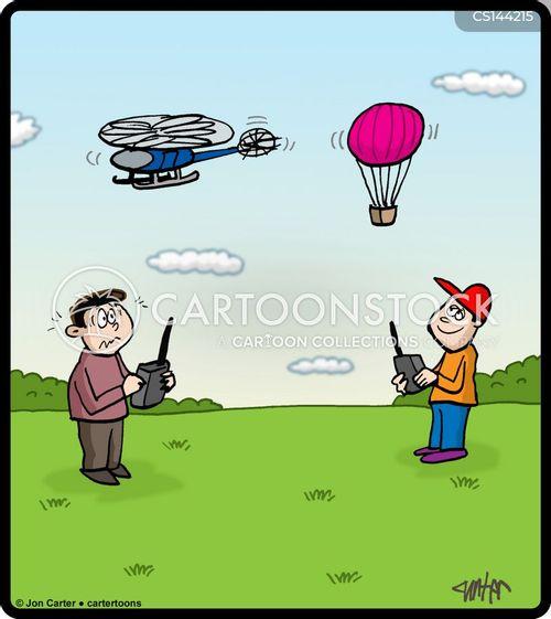 hot air balloons cartoon