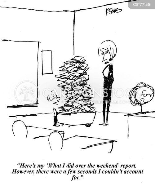 weekend cartoon