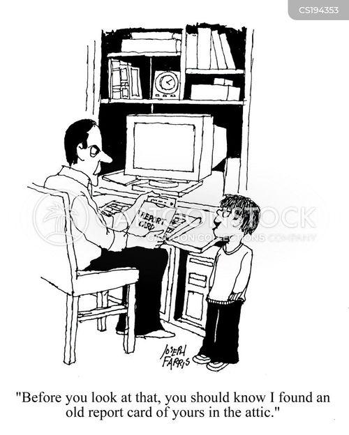 behave cartoon