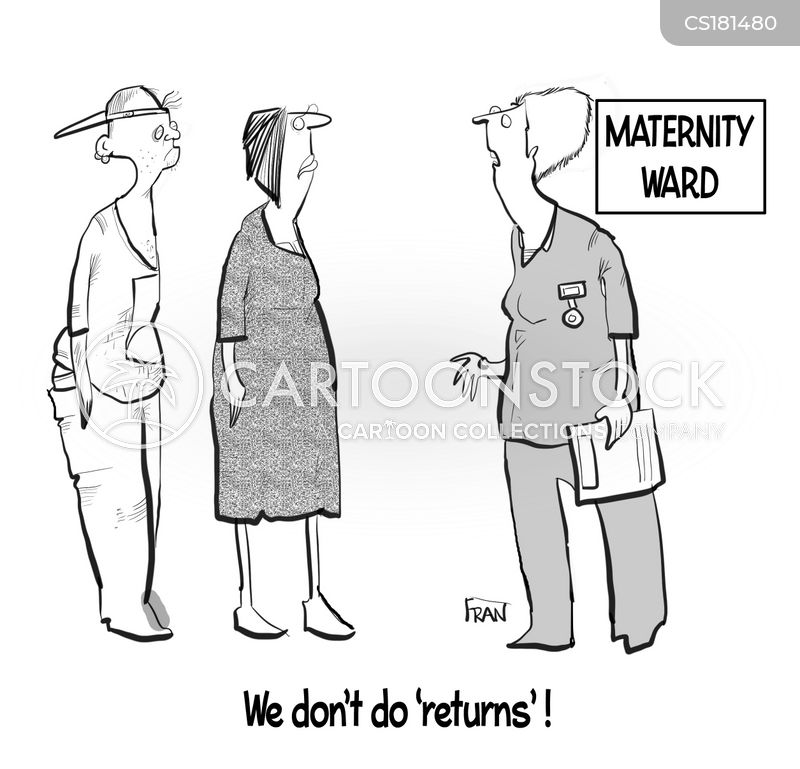 returns policies cartoon