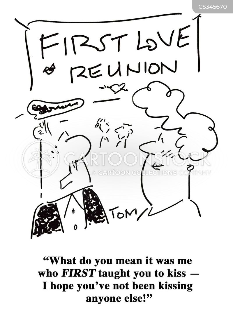 Learn To Kiss Cartoons and Comics - funny pictures from CartoonStock