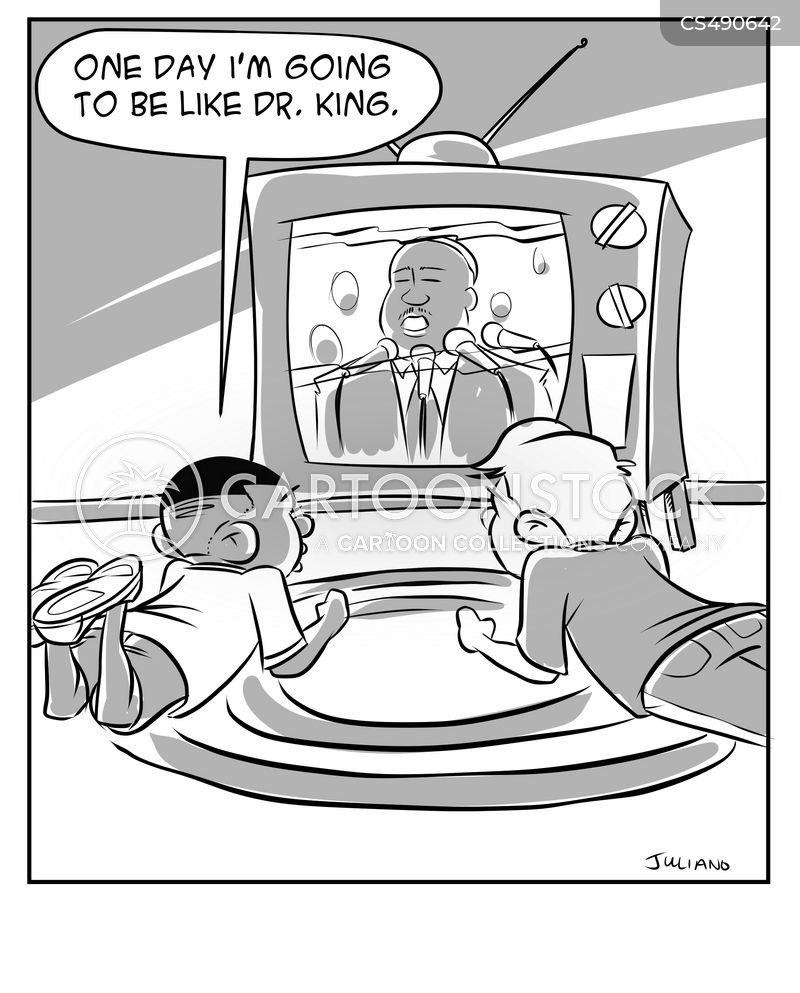 martin luther king day cartoon