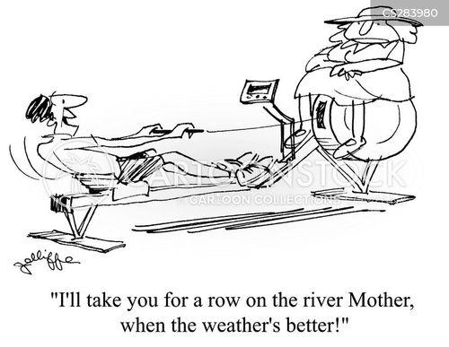 poor weather cartoon