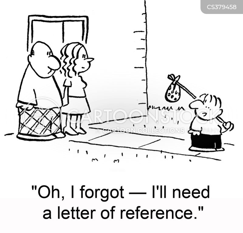 reference letter cartoon 1 of 3