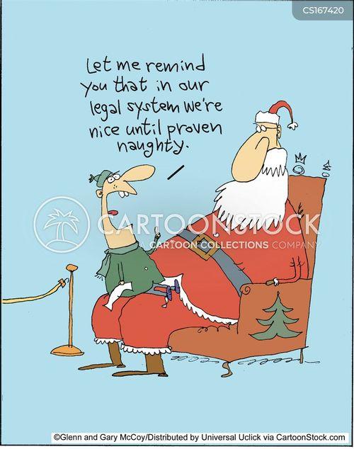 christmas presents cartoon
