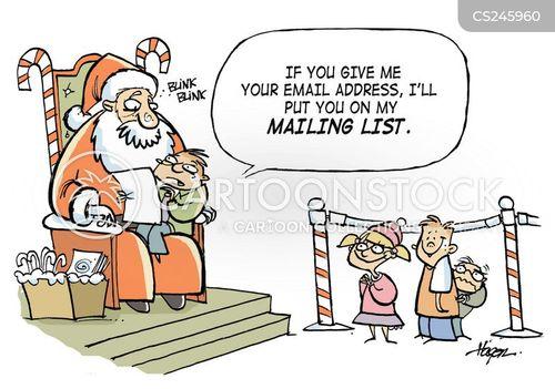mailing list cartoon