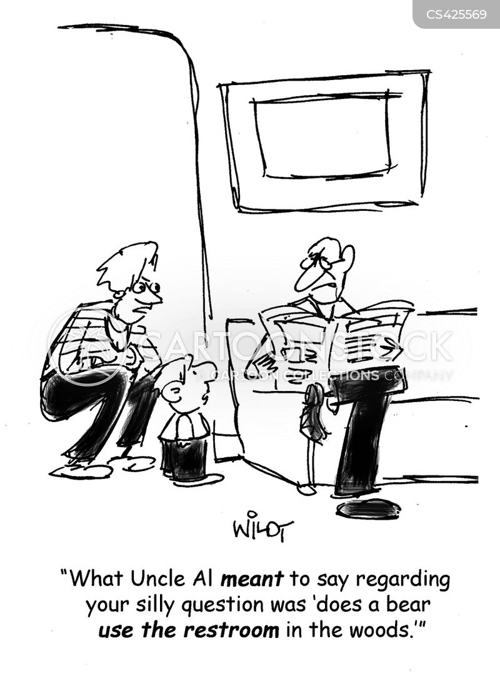 age appropriate cartoon