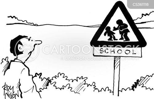 school bullies cartoon