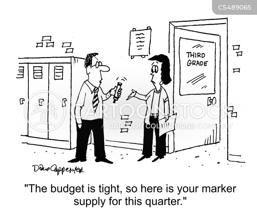 budget restriction cartoon