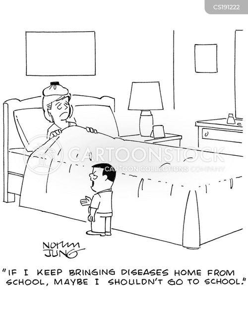 ill day cartoon