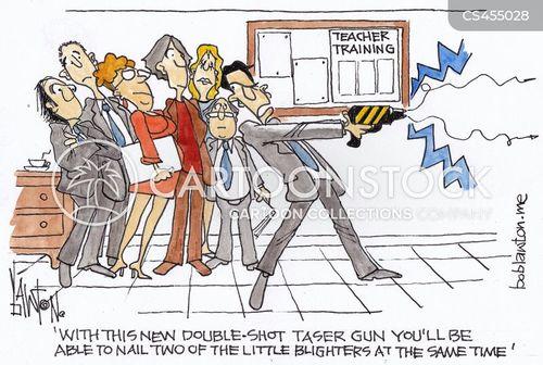 teacher training cartoon